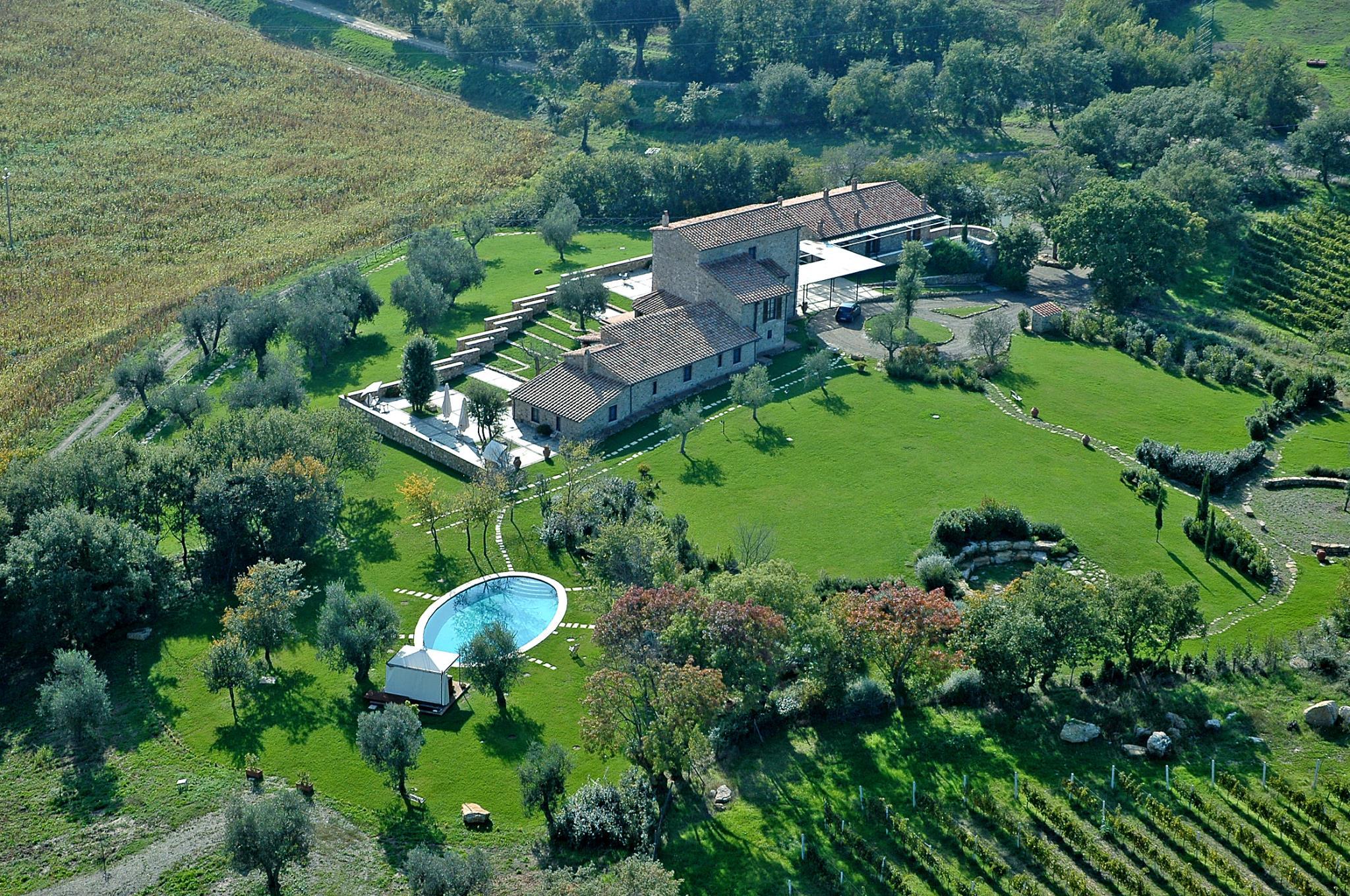 Agriturismo fattoria pianetti a due passi dalle terme di saturnia - Saturnia agriturismo con piscina ...